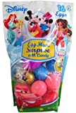 Disney Characters Easter Egg Hunt Assortment With Surprise Golden Egg, 16 count