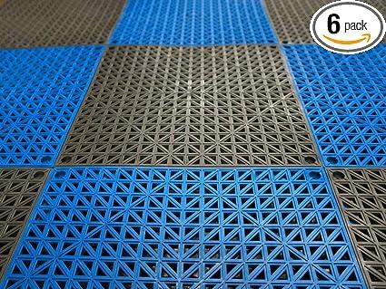 Amazon.com: VinTile - Baldosas modulares entrelazadas para ...
