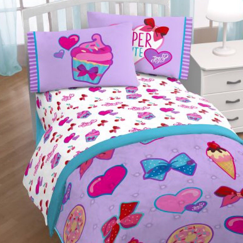 Jojo Siwa Nickelodeon Girls Bedding Twin Sheet Set