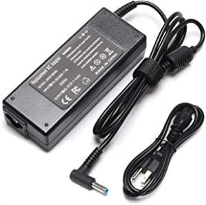 19.5V 4.62A 90W Laptop Adapter Charger Compatible with HP Envy Touchsmart Sleekbook 15 17 M6 M7 Series Stream 11 13 14 Pavilion 11 14 15 17 Spectre X360 13 741727-001 H6Y89AA