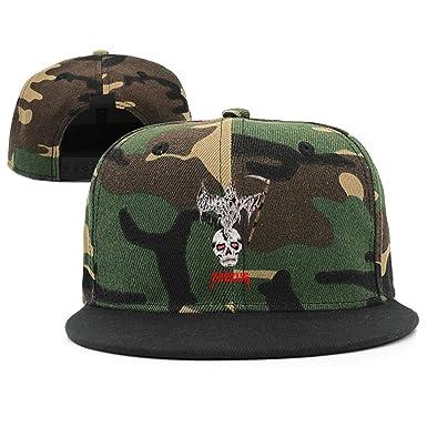 b5752987 Amazon.com: xuuyhjko Kanye-West-Yeezus-Tour-Tank-Top-Black- Structured  Casual Cotton Trucker Snapback: Clothing