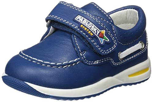 Pablosky 26813, Scarpe da Barca Bambino, Blu (Azul 026813), 22 EU
