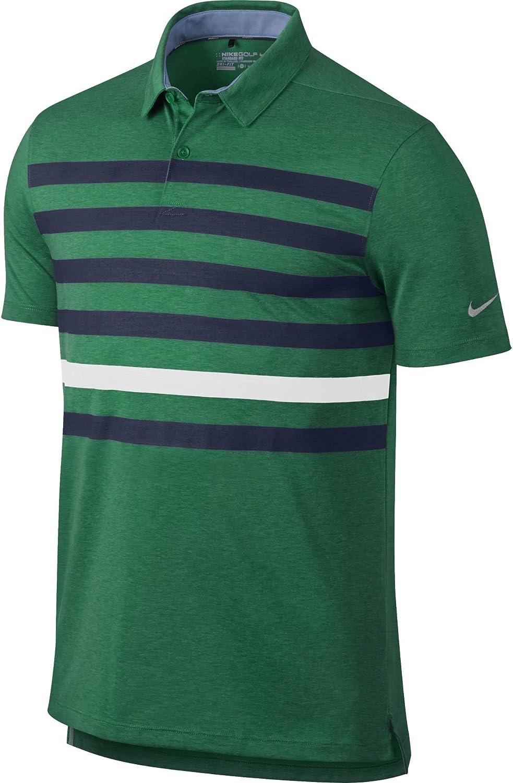 Nike 2016 TR Dry Stripe Polo Men's New Orleans Mall Golf 726647 Phoenix Mall Fit Dri Shirt NWT