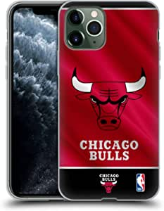 Head Case Designs Officially Licensed by NBA Banner 2019/20 Chicago Bulls Soft Gel Case Compatible with Apple iPhone 11 Pro