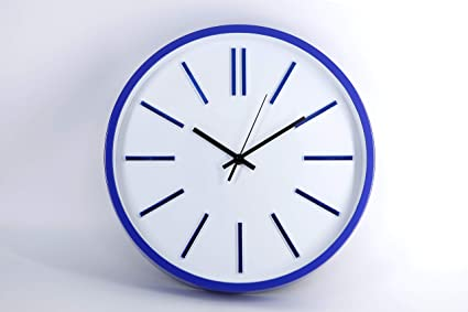 Buy Aarav House Round Shape Plastic Modern Wall Clock With