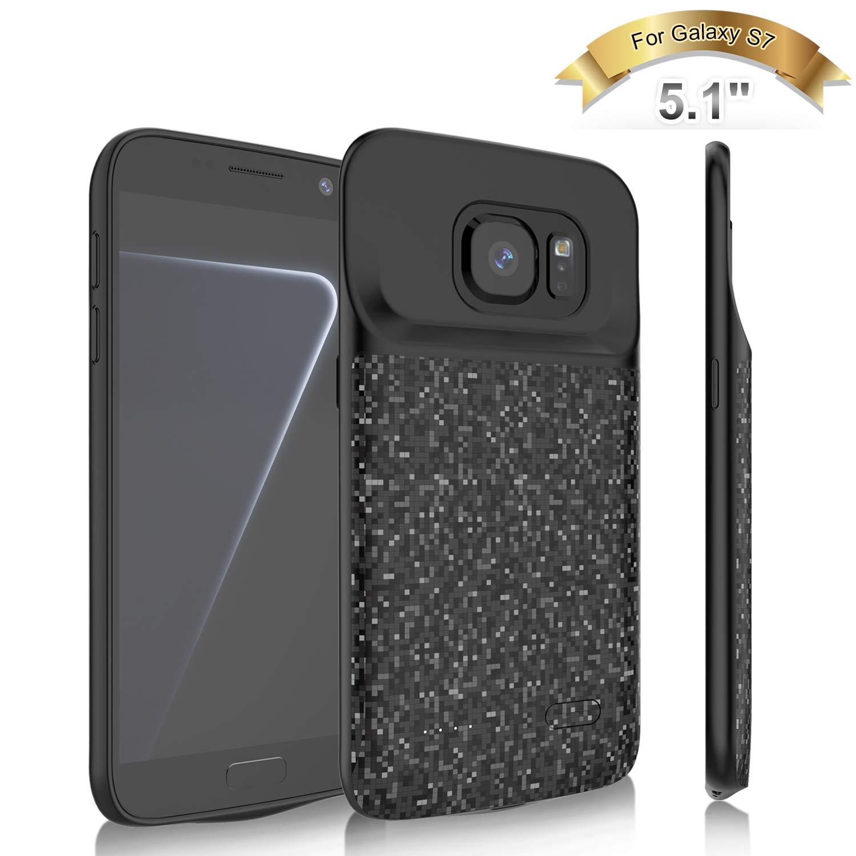 Funda Con Bateria De 4700mah Para Samsung Galaxy S7 Elebase [7k7nndj6]