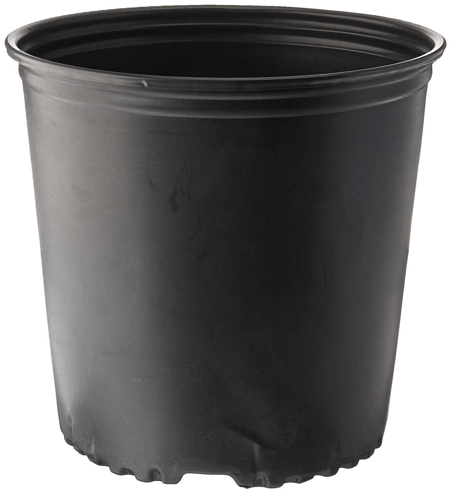 Viagrow 2 Gal. Plastic Nursery Pots (7.57 liters) 10-Pack by Viagrow