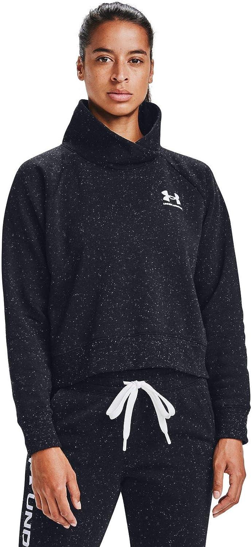 color negro 002 Camiseta de forro polar Rival para mujer talla XS Under Armour