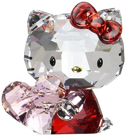 fab88a6e39 Swarovski Hello Kitty Pink Heart Figurine: Amazon.in: Home & Kitchen