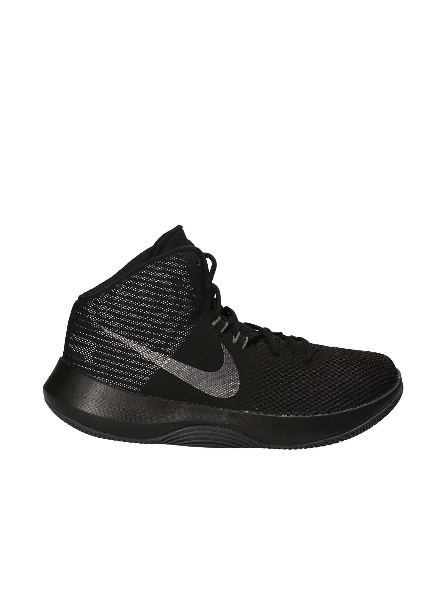 Nike Mens AIR Precision NBK Black MTLC Dark Grey White Size 8