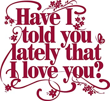 Have I Told You I Love You Today Quotes How To