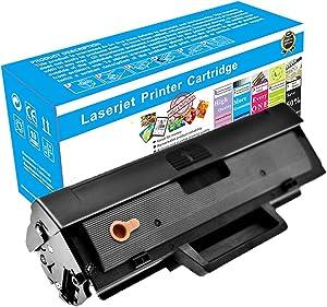 Compatible Toner Cartridges Replacement for HP W1105A Toner Cartridge for HP Laser MFP 135A 135W 137Fnw 107A 107W Toner(No Chip),Black