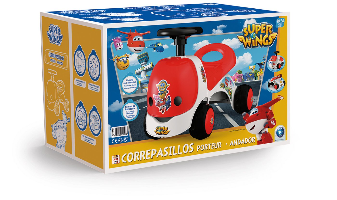 Amazon.com: Chicos Ride-On – 35407 – Licensed Super Wings ...
