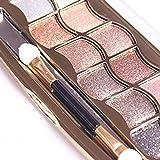 Yogogo Palette de Fard à Paupière Waterproof Durable Matte Shimmer Mat Makeup Palette Shimmer ombre à paupières
