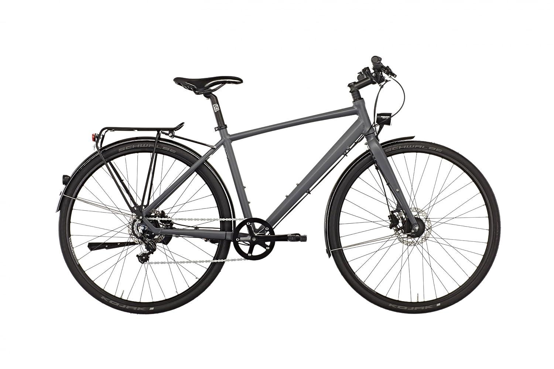 Rabeneick TX 7 Nexus - Bicicleta de paseo Hombre - gris Tamaño del ...