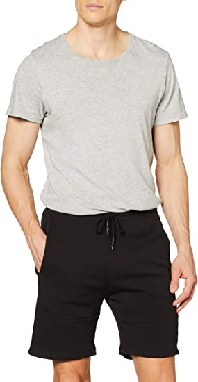 Urban Classics Herren Shorts Kurze Hose Bermuda Interlock Sweatshorts