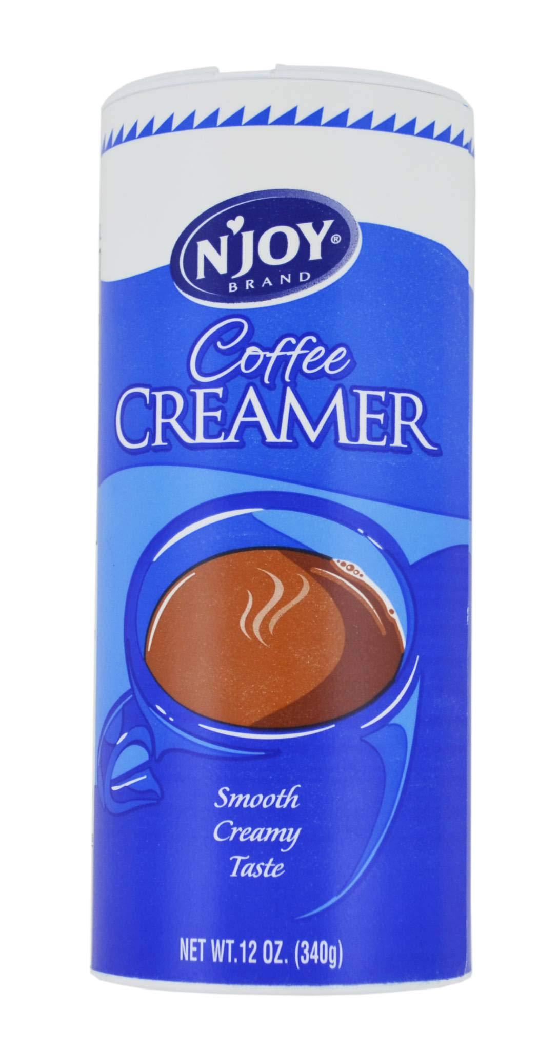 NJoy Non Dairy Powder Creamer - 12 oz. can, 24 cans per case