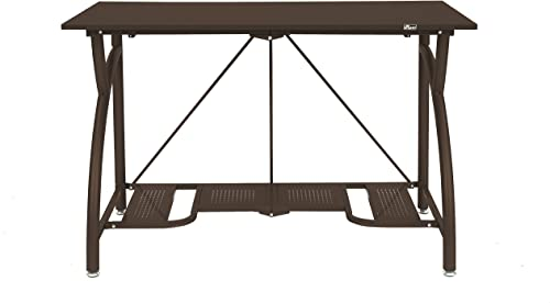 Origami Multi-Purpose fodable Steel frame Table,Sturdy Heavy Duty PC Computer Desk