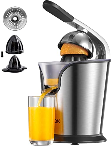 AICOK Orange Juicer Electric Citrus Juicer