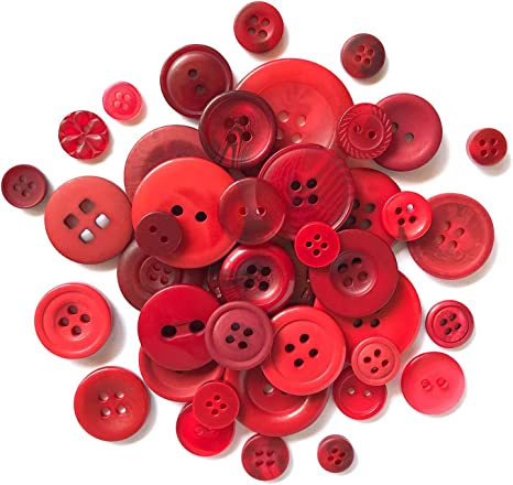 Blueberry Buttons 500 Small Assorted Round Sewing Crafting Bulk Buttons