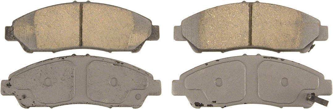 Front Wagner ThermoQuiet QC1280 Ceramic Disc Pad Set