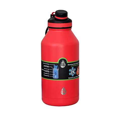 9bc6b3b64a Amazon.com: TAL 64oz Water Bottle Ranger Pro Double Wall Vacuum: Sports &  Outdoors