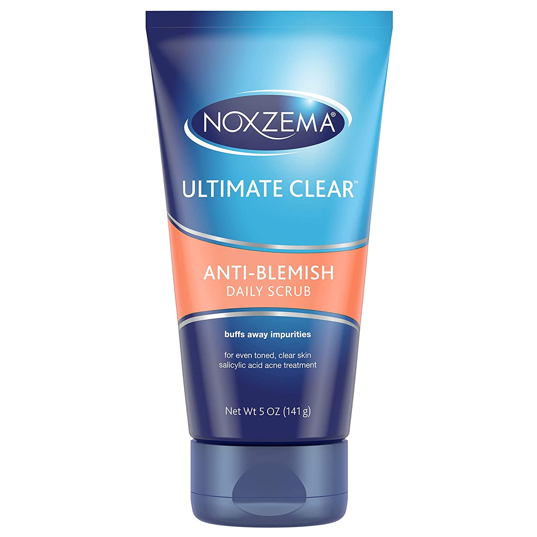 Noxzema Ultimate Clear Daily Scrub, Anti Blemish 5 oz 87300561165