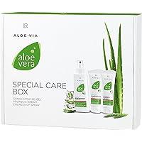 LR ALOE VIA Aloe Vera special-vårdsbox (gelkoncentrat, propolis-kräm, akutspray)