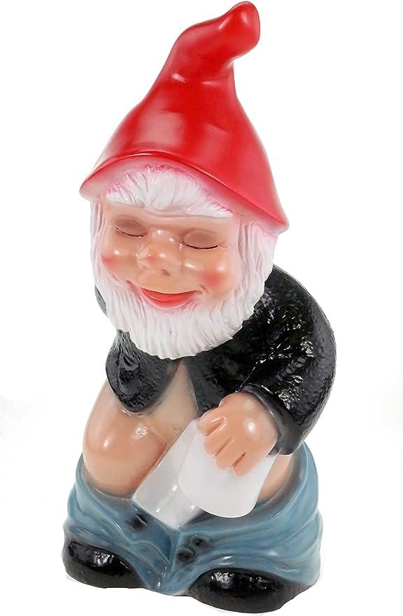 Nain de jardin 36846 Aulne en PVC résistant aux chocs Nain – Figurine  Fabriqué en Allemagne