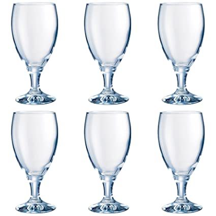 BOX OF 6 Red wine or Beer Glasses 460ml