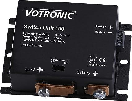 Votronic Switch Unit 100 12v 24v Batterie Hauptschalter Beleuchtung