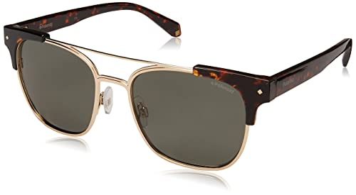 Polaroid 6039-S-X Gafas de Sol Unisex, Dark Havana, 54 mm  Amazon ... f9992b8d7b