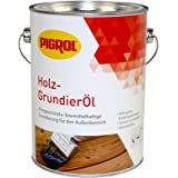 Pigrol Holz Grundieröl 2,5L Grundierung für Holz im Außenbereich
