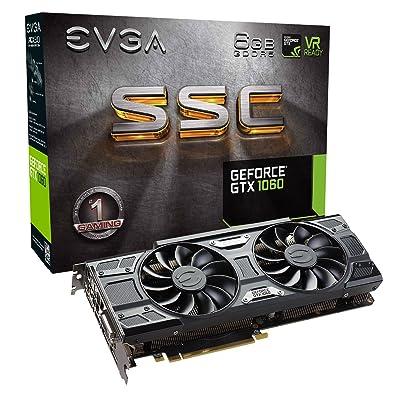 EVGA GeForce GTX 1060 SC GAMING, ACX 2.0