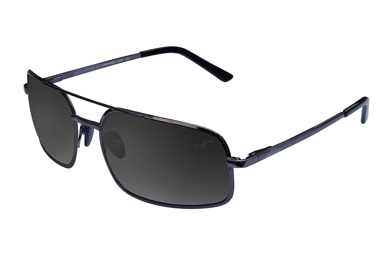 Xezo Pure titanio polarizadas UV tamaño grande de alto gafas de sol
