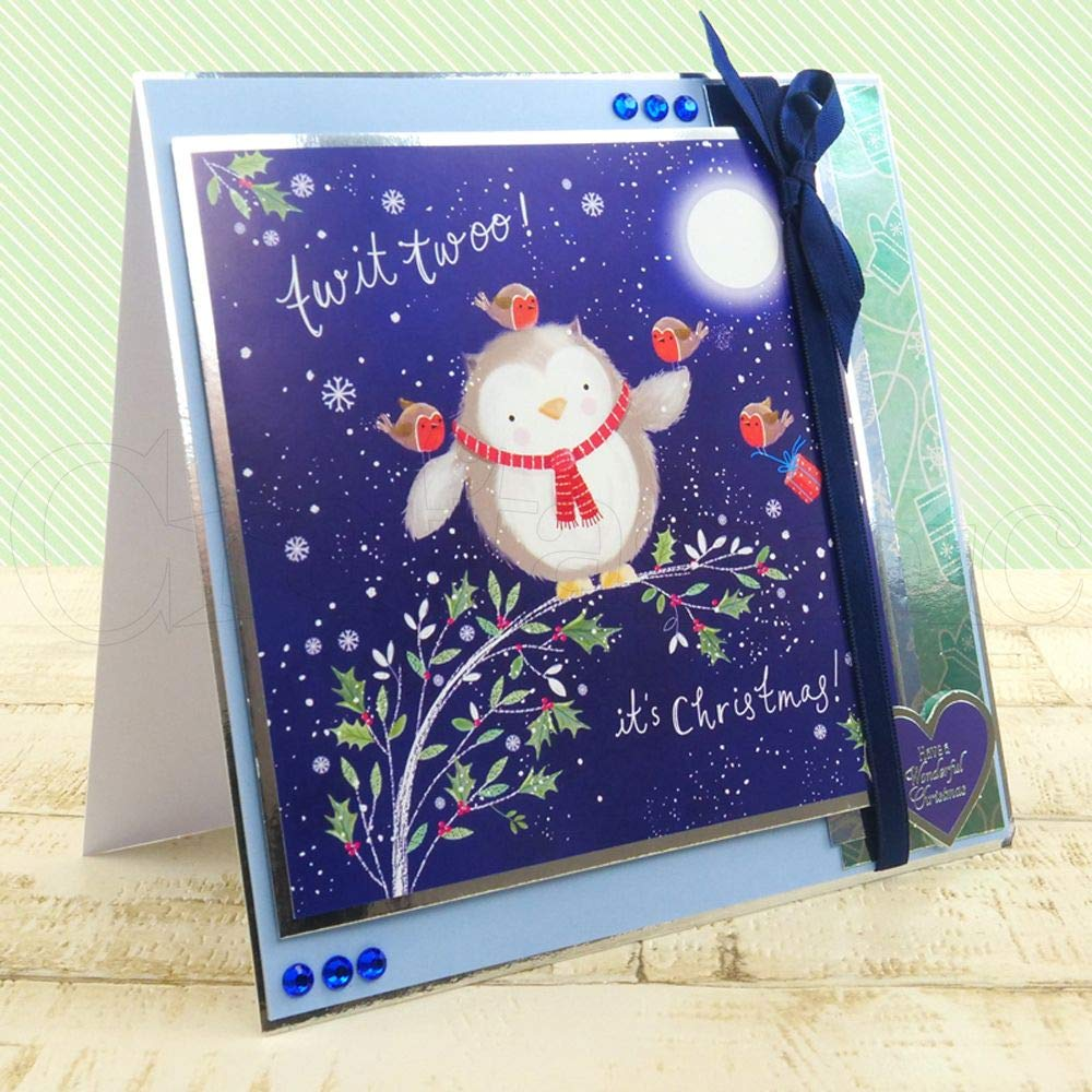 The First Square Little Book of Christmas Hunkydory