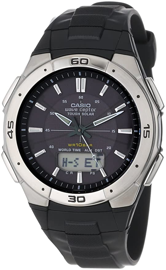 Casio WVA470J-1A Hombres Relojes: Amazon.es: Relojes
