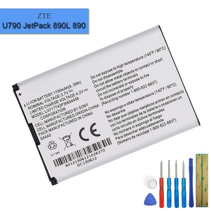 Amazon com: New Replacement Battery Li3717T42P3H654458