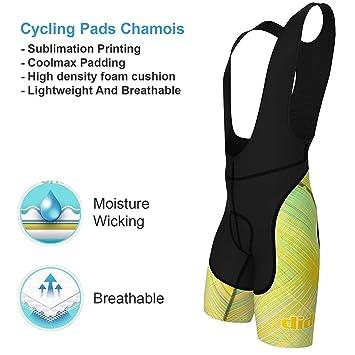 Arsuxeo Radunterhose Gepolstert 3D Pad Fahrradunterhose Damen /& Herren Fahrradunterw/äsche mit Sitzpolster f/ür Reiten Radfahren