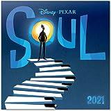 Grupo Erik Official Disney Soul 2021 Wall Calendar 11.8 x 11.8 inches (16 months) Family Planner Calendar 2021 CP21089
