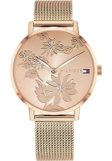 Tommy Hilfiger Reloj Analógico para Mujer de Cuarzo con Correa en Acero Inoxidable 1781922
