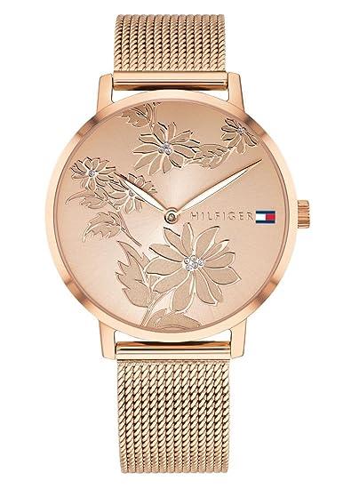 Tommy Hilfiger Reloj Analógico para Mujer de Cuarzo con Correa en Acero Inoxidable 1781922: Amazon.es: Relojes