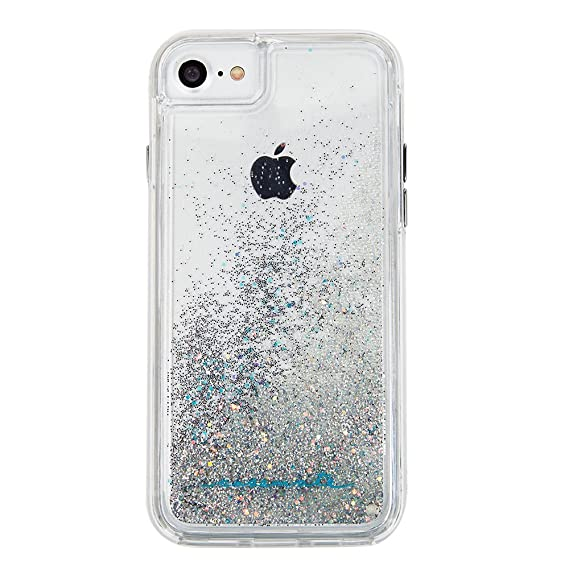 info for b1879 87999 Case-Mate iPhone 8 Case - WATERFALL - Cascading Liquid Glitter - Protective  Design for Apple iPhone 8 - Iridescent