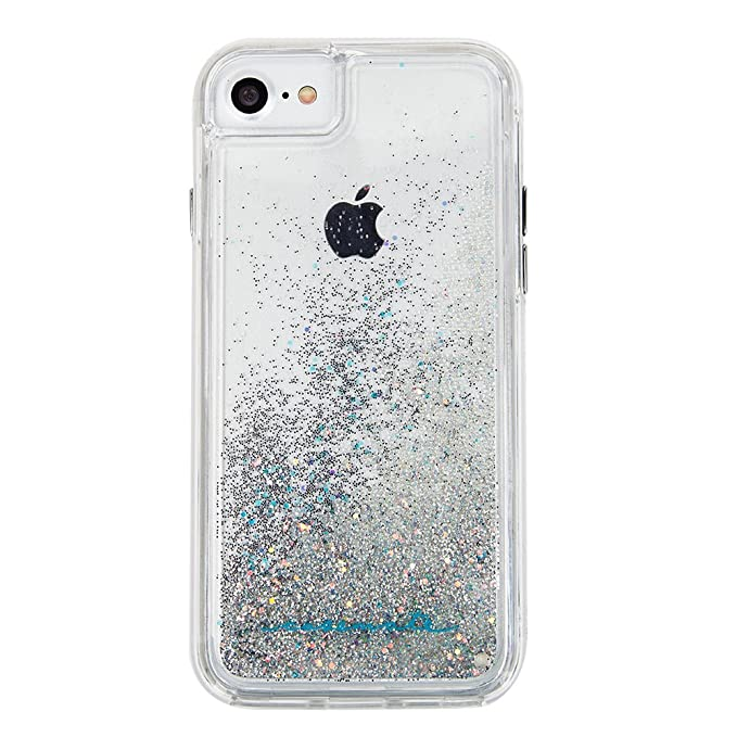 info for 532e6 74ab6 Case-Mate iPhone 8 Case - WATERFALL - Cascading Liquid Glitter - Protective  Design for Apple iPhone 8 - Iridescent