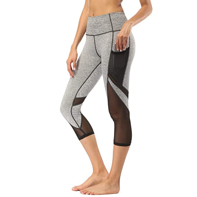 Amazon.com: FEIVO - Pantalones de yoga para mujer, Power ...