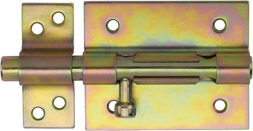 2 x Garten-Torriegel 185 mm T/ürriegel Torriegel Gartentorriegel Torverschlu/ß von SO-TECH/®