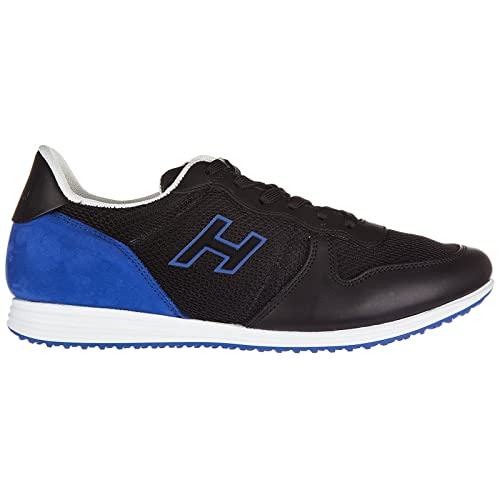 meilleur service ee1c1 d8a6a Hogan Chaussures Baskets Sneakers Homme en Cuir h205 Olympia ...