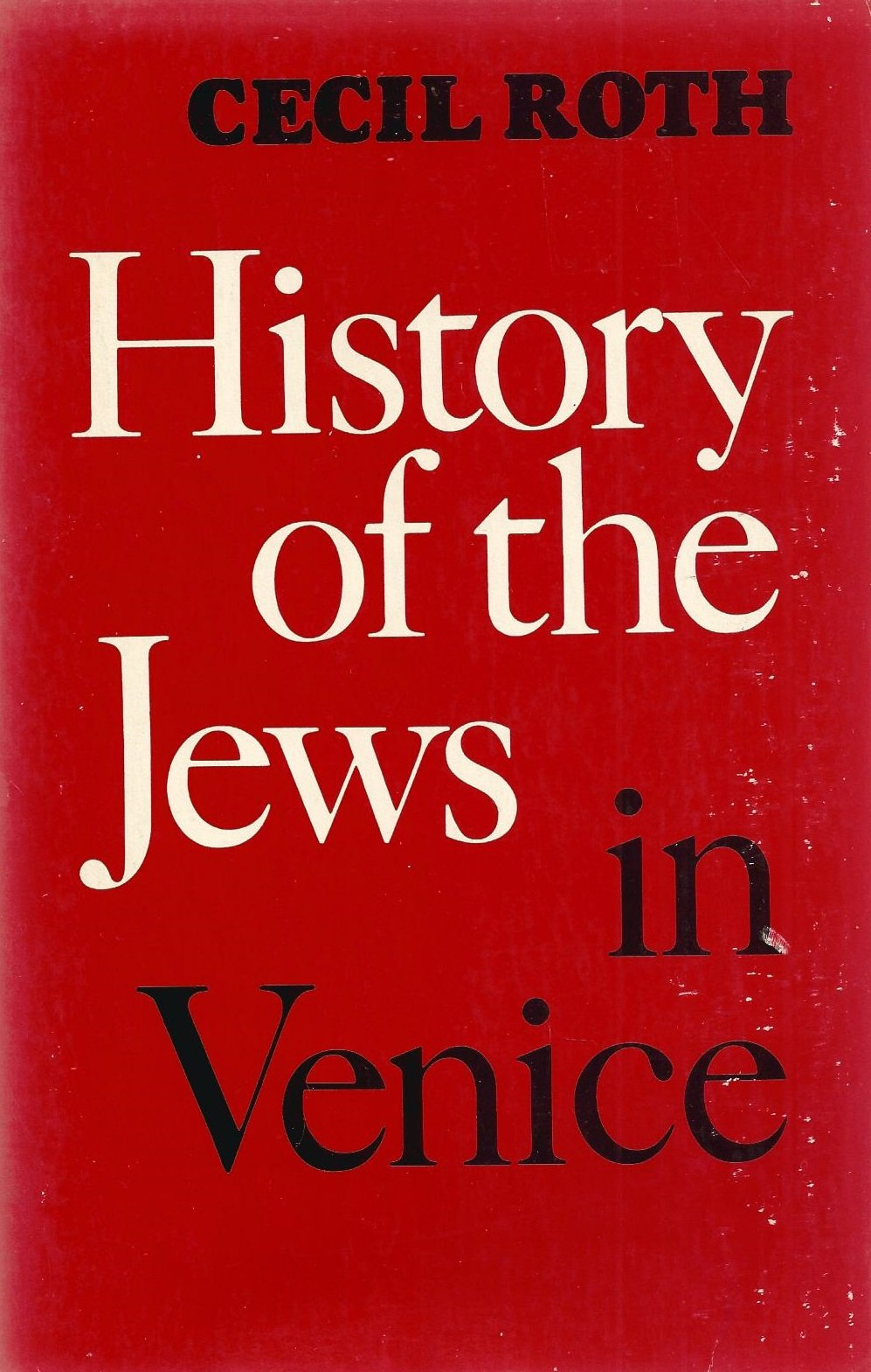 History of the Jews in Venice