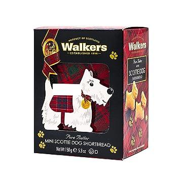 Walkers Shortbread Mini Scottie Dogs, Traditional Pure Butter Shortbread  Cookies in Novelty