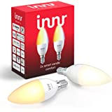 Innr Smart Candle Bulb Comfort E14, Works with Philips Hue* / Alexa/Google Assistant (Hub Required), White Ambiance Light 2200K - 5000K, RB 248 T-2 (2-Pack)